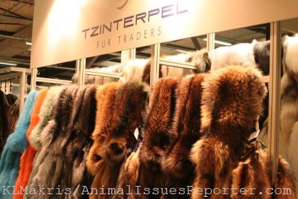 Merchandise at Athens Fur Fair / Photo: Katerina Lorenzatos Makris