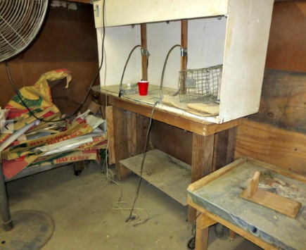 Electrocution table at Valley View Chinchilla Ranch Photo: PETA